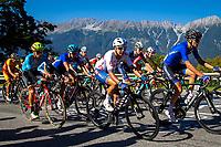 Picture by Alex Whitehead/SWpix.com - 28/09/2018 - Cycling - UCI 2018 Road World Championships - Innsbruck-Tirol, Austria - U23 Men's Road Race - Max Stedman of Great Britain.