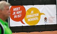 August 8, 2014, Netherlands, Rotterdam, TV Victoria, Tennis, National Junior Championships, NJK,  Tolerance campaign<br /> Photo: Tennisimages/Henk Koster