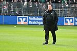 16.03.2019, BWT-Stadion am Hardtwald, Sandhausen, GER, 2. FBL, SV Sandhausen vs FC St. Pauli, <br /> <br /> DFL REGULATIONS PROHIBIT ANY USE OF PHOTOGRAPHS AS IMAGE SEQUENCES AND/OR QUASI-VIDEO.<br /> <br /> im Bild: Markus Kauczinski (Trainer, FC St. Pauli)<br /> <br /> Foto &copy; nordphoto / Fabisch