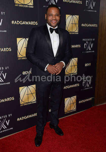31 January  - Beverly Hills, Ca - Anthony Anderson. Arrivals for the Art Director's Guild 20th Annual Production Design Awards held at Beverly Hilton Hotel. Studios. Photo Credit: Birdie Thompson/AdMedia