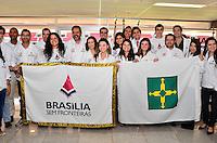 BRASÍLIA, DF, 14.05.2014 – BRASÍLIA SEM FRONTEIRAS – Cerimônia de abertura oficial do Brasília sem fronteiras, no Estádio Nacional Mané Garrincha, na manhã desta quarta-feira, 14. (Foto: Ricardo Botelho / Brazil Photo Press).