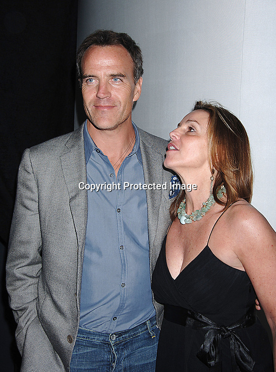 Richard Burgi and Laurie Kirby, The Executive Director of ..The Newport Film Festival ..at The 2006 Newport International Film Festival Spring Benefit in New York. ..Robin Platzer, Twin Images