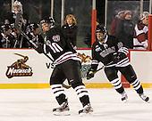 Cole Ikkala (Union - 23), Mark Bennett (Union - 10) - The Union College Dutchmen defeated the Harvard University Crimson 2-0 on Friday, January 13, 2011, at Fenway Park in Boston, Massachusetts.