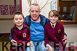 At the Moyderwell Primary School Grandparents Day on Thursday were Nathan O'Connor, Pat O'Connor, Ava O'Connor