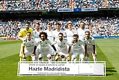 9th September 2017, Santiago Bernabeu, Madrid, Spain; La Liga football, Real Madrid versus Levante; Real Madrid players in a group team photo before the match