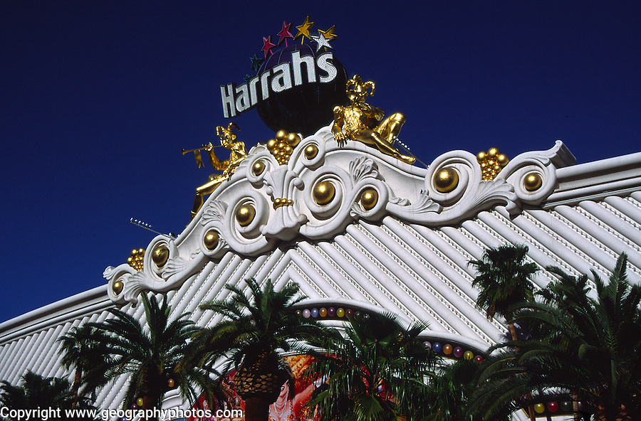 Harrahs casino, The Strip, Las Vegas, Nevada, USA