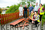 Pictured at the start of the Laune River Walk Mill Road Car Park  Killorglin were members of Killorglin Tidy Towns showing the vandalism that occured in the picnic area on Saturday night , by Anti Social Behaviour . Pictured Front l-r  Michael Kenny and Orna Eccles Back l-r Declan Falvey, Publican, Cllr Damian Quigg, Billy Brown, Community Council, Cllr Michael Cahill, Maria Bateman,