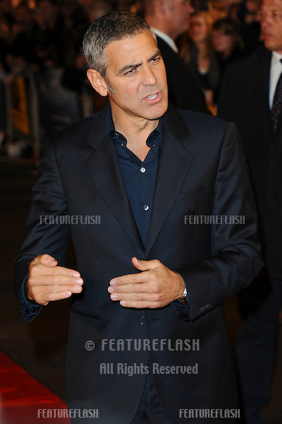 George Clooney attending the 'The Men Who Stare At Goats' film premiere, at Odeon Leicester Square, London. 15/10/2009   Picture By: Steve Vas / Featureflash