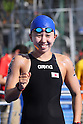 Yumi Kida (JPN), <br /> AUGUST 15, 2016 - Swimming : <br /> Women's 10km Marathon Swimming <br /> at Fort Copacabana <br /> during the Rio 2016 Olympic Games in Rio de Janeiro, Brazil. <br /> (Photo by Yohei Osada/AFLO SPORT)