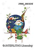 Marcello, CHRISTMAS ANIMALS, WEIHNACHTEN TIERE, NAVIDAD ANIMALES, paintings+++++,ITMCXM1936,#XA# ,owls