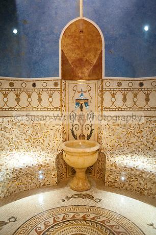 La Grotta in the spa at Villa Palazzo Aminta Hotel spa, Stresa, Lago Maggiore, Italy