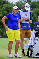 Angela Stanford (USA) prepares to tee off on 9 during round 2 of  the Volunteers of America Texas Shootout Presented by JTBC, at the Las Colinas Country Club in Irving, Texas, USA. 4/28/2017.<br /> Picture: Golffile | Ken Murray<br /> <br /> <br /> All photo usage must carry mandatory copyright credit (&copy; Golffile | Ken Murray)