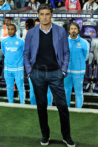 23.09.2015. Toulouse, France. French League 1 football. Toulouse versus Marseille.  Manager Michel (om)