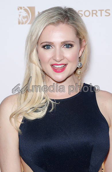 18 March 2016 - Las Vegas, Nevada -  Katherine Bailess. Cirque Du Soleil presents star-studded blue carpet at Fourth Annual One Night for ONE DROP at the Cleveland Clinic Lou Ruvo Center for Brain Health. Photo Credit: MJT/AdMedia