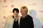"Linda Dano and Joan Lunden at QVC presents ""FFANY SHOES ON SALE"" at Frederick P. Rose Hall, Home of Jazz at Lincoln Center on October 13, 2010 in New York City, New York. (Photo By Sue Coflin/Max Photos)"