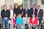 Anama?it Milltown members at the Kerry Community Awards in the Dromhall Hotel, Killarney on Thursday evening front row l-r: Finola Mauritzen, Mary Prendergast, Patricia Maher, Mary O'Sullivan. Back row: Stephen O'Sullivan, Tom O'Sullivan, Jeff Mauritzen, Sinead O'Sullivan, Sean Quinlan, Tom Curran County Manager and Michael Brennan