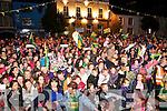 Crowd in Listowel on Saturday night last.