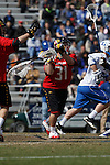 2013 March 02: Niko Amato #31 of the Maryland Terrapins during a game against the Duke Blue Devils at Koskinen Stadium in Durham, NC.  Maryland won 16-7.