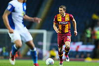 Stephen Warnock of Bradford City during the Sky Bet League 1 match between Blackburn Rovers and Bradford City at Ewood Park, Blackburn, England on 29 March 2018. Photo by Thomas Gadd.