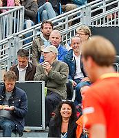 14-09-12, Netherlands, Amsterdam, Tennis, Daviscup Netherlands-Swiss,  Raemon Sluiter as spectator