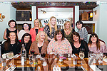 Mags Gallivan from Killarney celebrated her 50th birthday with front l-r Norma O'Doherty, Cathriona O'Donoghue, Helga Hurley, Vera Healy and Josie Reen, back l-r Ann Galvin, Ann Marie O'Sullivan Darcy, Sandra Daly, Majella O'Sullivan, Rose Crowley and Mags Cahil in the Porterhouse Bar, Killarney last Saturday night