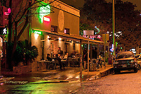 Guero's Taco Bar has been a popular South Austin taqueria since 1986, located on the ever popular South Congress Avenue district - Stock Image.