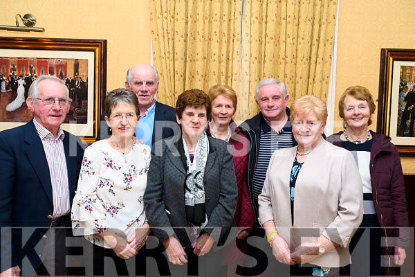 Supporting the fundraiser in The Manor Inn, Killorglin last Saturday in aid of Siobhan Mather's Cancer treatment <br /> L-R: Eddie Moynihan, Theresa Moynihan, Jim Sullivan, Joan O'Connor, Kathleen Doyle,  Michael Doyle, Margaret O'Sullivan &amp; Sheila Sheehan.