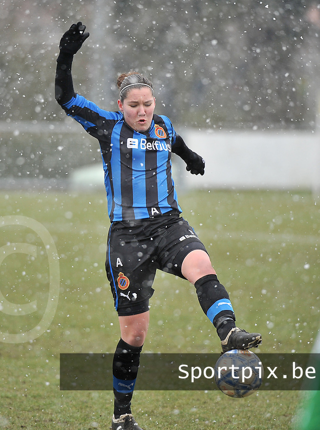 Club Brugge Dames - PEC Zwolle : Elien Van Wynendaele.foto DAVID CATRY / Vrouwenteam.be