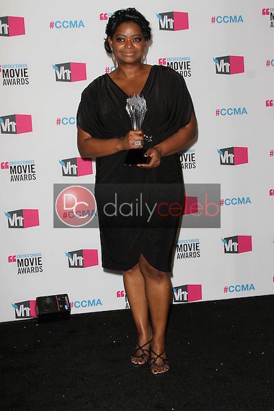 Octavia Spencer<br /> at the 17th Annual Critics' Choice Movie Awards, Palladium, Hollywood, CA  01-12-12<br /> David Edwards/DailyCeleb.com 818-249-4998