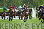 Action from the Second race at Killarney Races on Monday