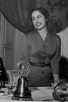 Carla Porta Musa,poetessa e  scrittrice, &egrave; nata a Como nel Marzo 1902.<br /> Qui nel 1954 inaugurazione Soroptimist