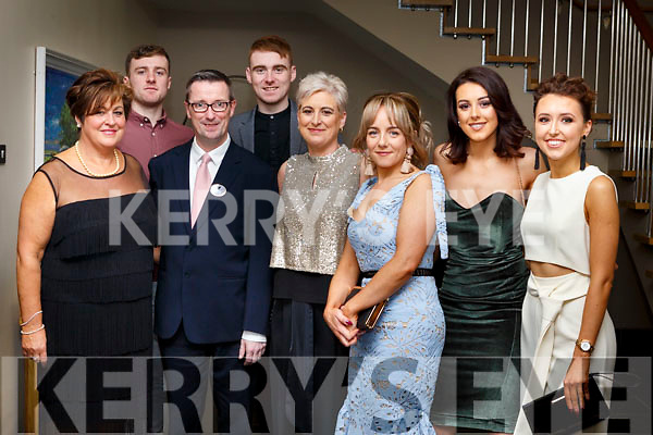 Attending the Brides of Kerry Wedding Industry Awards in the Ballyroe Heights Hotel on Sunday evening last. Front l-r, Marie McCarthy, Mike Ryan, Frances McCarthy, Maureen McCarthy, Christina and Niamh Hurley.<br /> Back l-r, Desmond and Ger McCarthy.