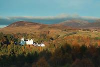 Blair Castle near Blair Athol, Perthshire