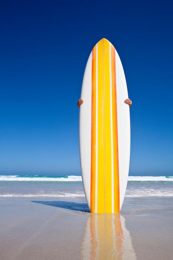 Retro Surf Board