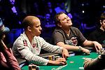 Team Pokerstars.net Pro Peter Eastage and Pokerstars.net sponsored player Scott Seiver.