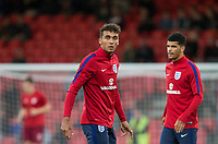 Dominic Calvert-Lewin (Everton) of England U21 ahead of the FIFA World Cup qualifying match between England and Slovakia at Wembley Stadium, London, England on 4 September 2017. Photo by PRiME Media Images.