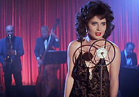 Blue Velvet (1986) <br /> Isabella Rossellini<br /> *Filmstill - Editorial Use Only*<br /> CAP/KFS<br /> Image supplied by Capital Pictures