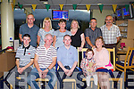 TRACK TIME:  Sean Casey, Spa Road, Tralee who is leaving to join the army celebrating with family and friends at the Kingdom Greyhound Stadium Night at the Dogs on Saturday seated l-r:Cian, Gerard, Sean, Mollky and Catherine Casey. Back l-r: Tomas Casey, Pauline Fitzmaurice, Trish Casey, Chris Casey, John Murphy and Paud Fitzmaurice.