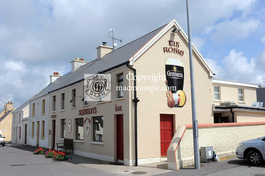 Tig Rosie rural pub in The village of Dungegan, Ballinskelligs, County Kerry, Ireland..Picture by Don MacMonagle