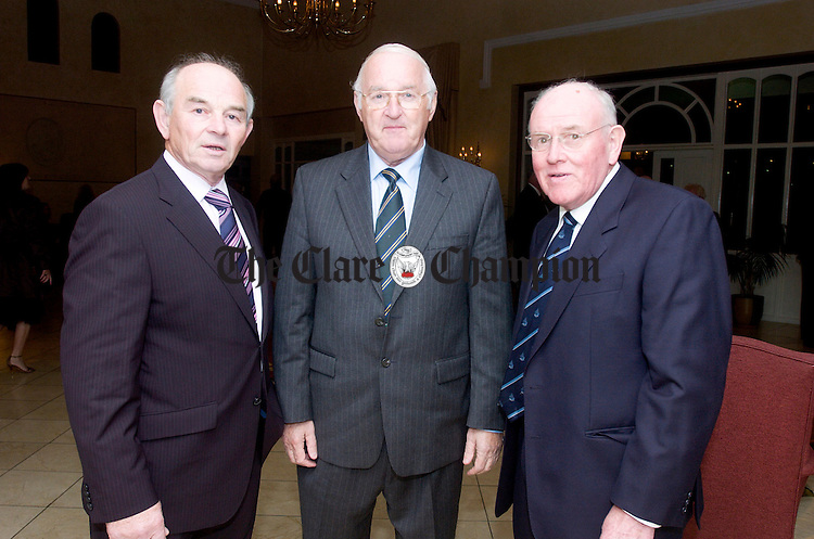 L-R Colm wiley, Brendan Hennessey and Kevin Smith.Pic Arthur Ellis.