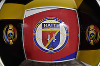 Orlando, FL - Wednesday June 08, 2016:  Haiti locker room prior to a Copa America Centenario Group B match between Brazil (BRA) and Haiti (HAI) at Camping World Stadium.