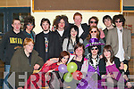 PROM NIGHT: Enjoying the KDYS mock prom in the KDYS Killarney on Friday evening were front l-r: Ben Bowes, Tessa Roberts, Leanne Harrington, Sean O'Reilly (all Killarney) and Orla Sheehan (Killorglin). Back l-r: Seamus Brosnan, Erin Lachs, Robert O'Neill, Sean Brosnan, Gillian Looney, Andrew Coffey, Sinead O'Connor, Patrick O'Connor, Cillian Buckley and Curtis Stevens (all Killarney).   Copyright Kerry's Eye 2008