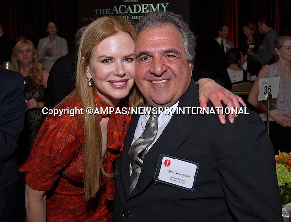 NICOLE KIDMAN AND JIM GIANOPULOS.at the Academy of Motion Picture Arts and Sciences' Oscar® Nominees Luncheon, Beverly Hilton_07/02/2011.Academy Awards for outstanding film achievements of 2010 will be presented on Sunday, February 27, 2011 at the Kodak Theatre, Hollywood..MANDATORY PHOTO CREDIT: ©Harbaugh/NEWSPIX INTERNATIONAL . .(Failure to by-line the photograph will result in an additional 100% reproduction fee surcharge. You must agree not to alter the images or change their original content)..            *** ALL FEES PAYABLE TO: NEWSPIX INTERNATIONAL ***..IMMEDIATE CONFIRMATION OF USAGE REQUIRED:Tel:+441279 324672..Newspix International, 31 Chinnery Hill, Bishop's Stortford, ENGLAND CM23 3PS.Tel: +441279 324672.Fax: +441279 656877.Mobile: +447775681153.e-mail: info@newspixinternational.co.uk