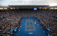 Ambience.Tennis - Australian Open - Grand Slam -  Melbourne Park  2013 -  Melbourne - Australia - Saturday 26th January  2013. .© AMN Images, 30, Cleveland Street, London, W1T 4JD.Tel - +44 20 7907 6387.mfrey@advantagemedianet.com.www.amnimages.photoshelter.com.www.advantagemedianet.com.www.tennishead.net