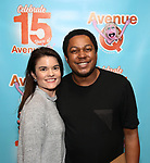 """Avenue Q & Puppetry Fans during """"Avenue Q"""" Celebrates World Puppetry Day at The New World Stages on 3/21/2019 in New York City."""