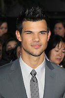 LOS ANGELES, CA - NOVEMBER 12: Taylor Lautner at the premiere of Summit Entertainment's 'The Twilight Saga: Breaking Dawn - Part 2' at the Nokia Theatre L.A. Live on November 12, 2012 in Los Angeles, California. Credit: mpi29/MediaPunch Inc. /NortePhoto