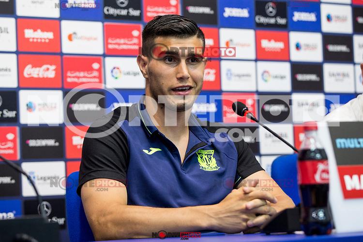 CD Legane's new player Ezequiel Munoz during their official presentation at Leganes,Spain on August 09 of 2017.(ALTERPHOTOS/Rodrigo Jimenez) /NortePhoto.com
