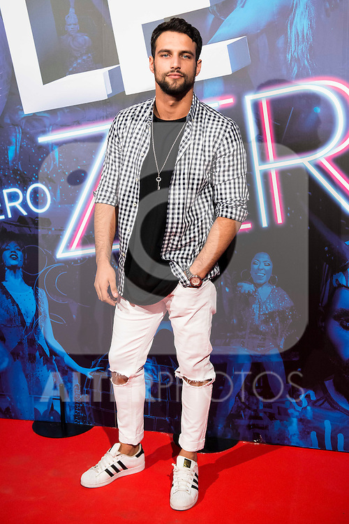 Jesus Castro attends to the premiere of the The Hole Zero Show at Teatro Calderon in Madrid. October 04, 2016. (ALTERPHOTOS/Borja B.Hojas)