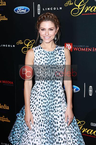 Maria Menounos<br /> at the 40th Anniversary Gracies Awards, Beverly Hilton, Beverly Hills, CA 05-19-15<br /> David Edwards/DailyCeleb.com 818-249-4998