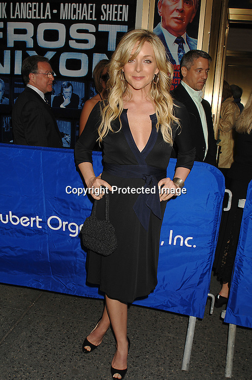 """Jane Krakowski..arriving for The Broadway Opening Night of """"Frost/Nixon""""..on April 22, 2007 at The Bernard B Jacobs Theatre. ..Robin Platzer, Twin Images"""